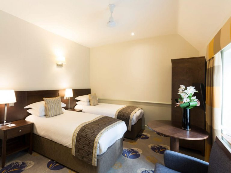 Classic Twin Rooms - Quy Mill Hotel & Spa