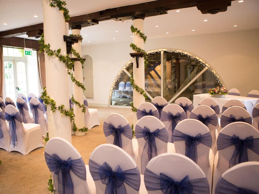 Wedding Ceremony In The Waterwheel Room