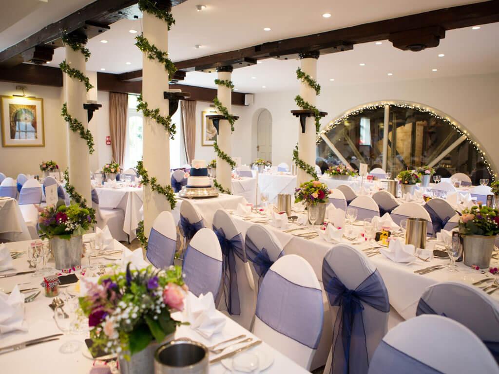 Wedding Rception - The Waterwheel Room