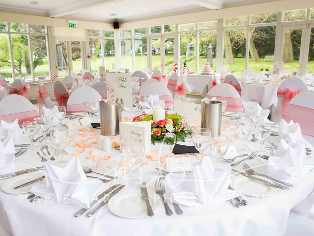 Wedding Reception - The Garden Room